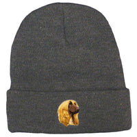 Afghan Hound Embroidered Beanies