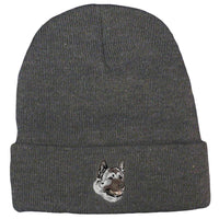 Akita Embroidered Beanies