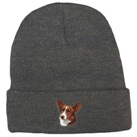 Cardigan Welsh Corgi Embroidered Beanies