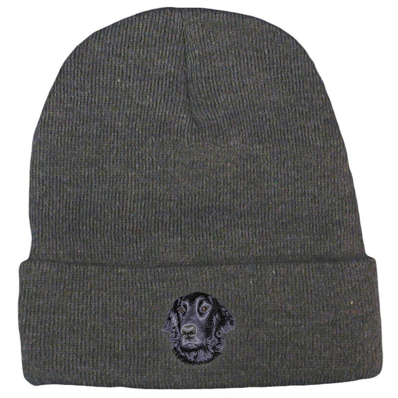 Flat Coated Retriever Embroidered Beanies