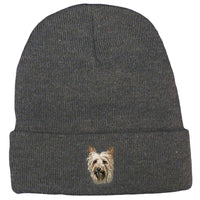 Silky Terrier Embroidered Beanies
