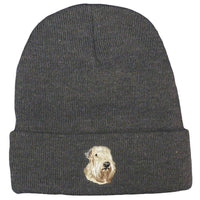Soft Coated Wheaten Terrier Embroidered Beanies