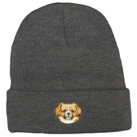 Tibetan Spaniel Embroidered Beanies