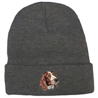 Welsh Springer Spaniel Embroidered Beanies