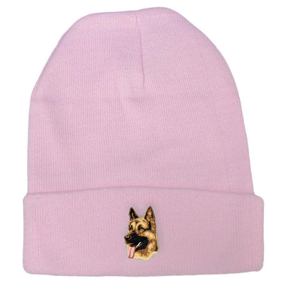 German Shepherd Dog Embroidered Beanies