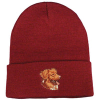 Nova Scotia Duck Tolling Retriever Embroidered Beanies