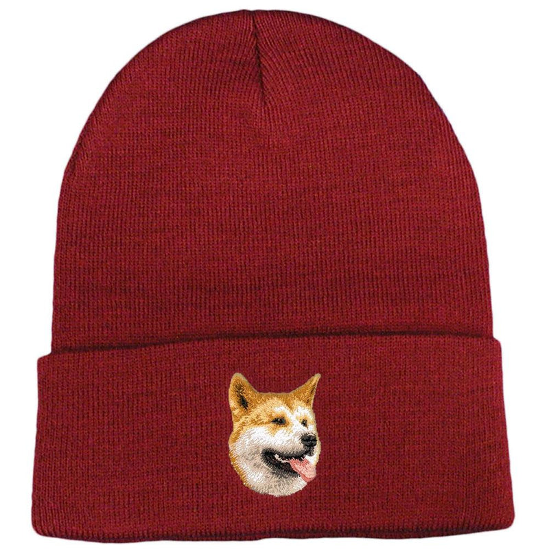 Shiba Inu Embroidered Beanies