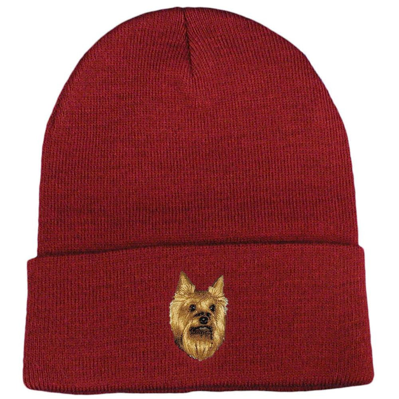Yorkshire Terrier Embroidered Beanies