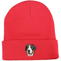 Greater Swiss Mountain Dog Embroidered Beanies