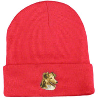 Shetland Sheepdog Embroidered Beanies