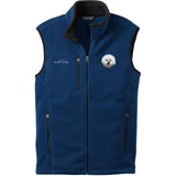 Embroidered Mens Fleece Vests Blackberry 3X Large Bichon Frise DM406