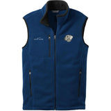 Embroidered Mens Fleece Vests Blackberry 3X Large Weimaraner DM339