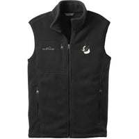 Boston Terrier Embroidered Mens Fleece Vest