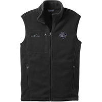 Flat Coated Retriever Embroidered Mens Fleece Vest