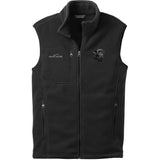 Embroidered Mens Fleece Vests Black 3X Large Labrador Retriever DM248