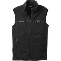 Schipperke Embroidered Mens Fleece Vest