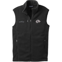 Scottish Deerhound Embroidered Mens Fleece Vest