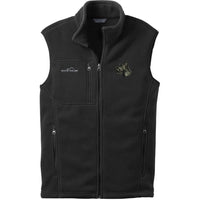 Scottish Terrier Embroidered Mens Fleece Vest