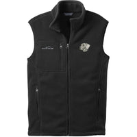 Weimaraner Embroidered Mens Fleece Vest