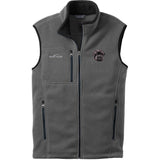 Embroidered Mens Fleece Vests Gray 3X Large Affenpinscher DM488