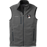 Embroidered Mens Fleece Vests Gray 3X Large Bernese Mountain Dog D13