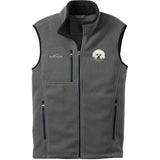 Embroidered Mens Fleece Vests Gray 3X Large Bichon Frise DM406
