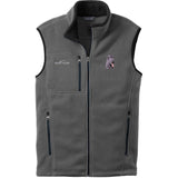 Embroidered Mens Fleece Vests Gray 3X Large Briard D72
