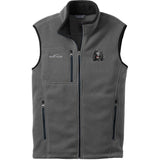 Embroidered Mens Fleece Vests Gray 3X Large Irish Water Spaniel D145