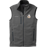 Embroidered Mens Fleece Vests Gray 3X Large Maltese DM273