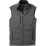 Embroidered Mens Fleece Vests Gray 3X Large Mastiff D135