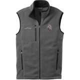 Embroidered Mens Fleece Vests Gray 3X Large Neapolitan Mastiff DM163