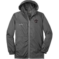 Affenpinscher Embroidered Mens Eddie Bauer Packable Wind Jacket