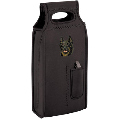 Beauceron Embroidered Wine Totes