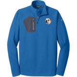 Embroidered Eddie Bauer Mens Half Zip Performance Fleece Cobalt Blue 2X-Large Bulldog D59