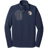 Embroidered Eddie Bauer Mens Half Zip Performance Fleece Navy 2X-Large Bulldog D59