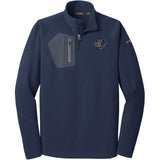 Embroidered Eddie Bauer Mens Half Zip Performance Fleece Navy 2X-Large Flat Coated Retriever D53