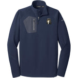 Embroidered Eddie Bauer Mens Half Zip Performance Fleece Navy 2X-Large Saluki D76