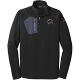 Embroidered Eddie Bauer Mens Half Zip Performance Fleece Black 2X-Large Affenpinscher DM488