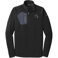 Scottish Terrier Embroidered Eddie Bauer Mens Half Zip Performance Fleece