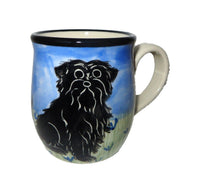 Affenpinscher Hand-Painted Ceramic Mug