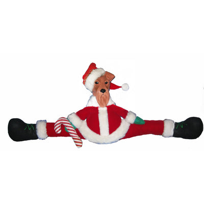 Airedale Terrier Mantle Santa