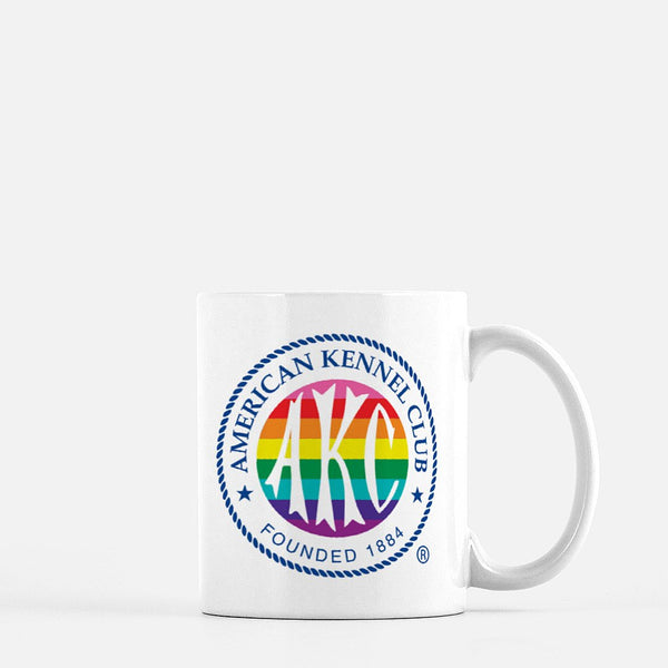 AKC Rainbow Logo Coffee Mug