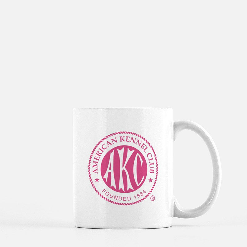 AKC Breast Cancer Awareness Pink Logo Coffee Mug