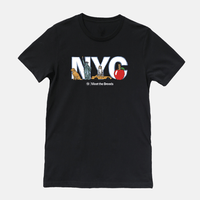 "Meet The Breeds ""NYC"" Crew Neck T-Shirt"