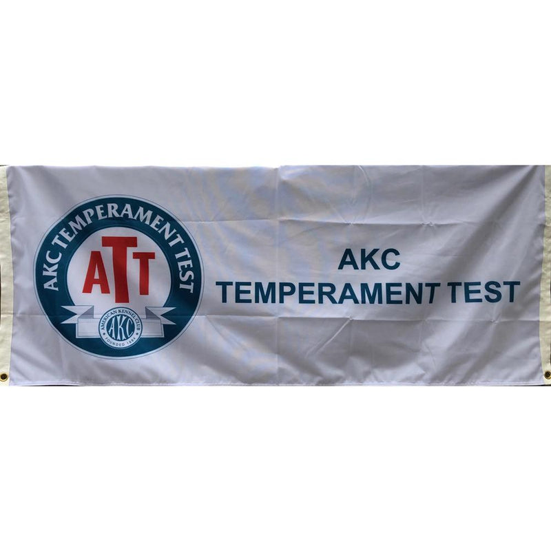 AKC Temperament Test Saddle Flag
