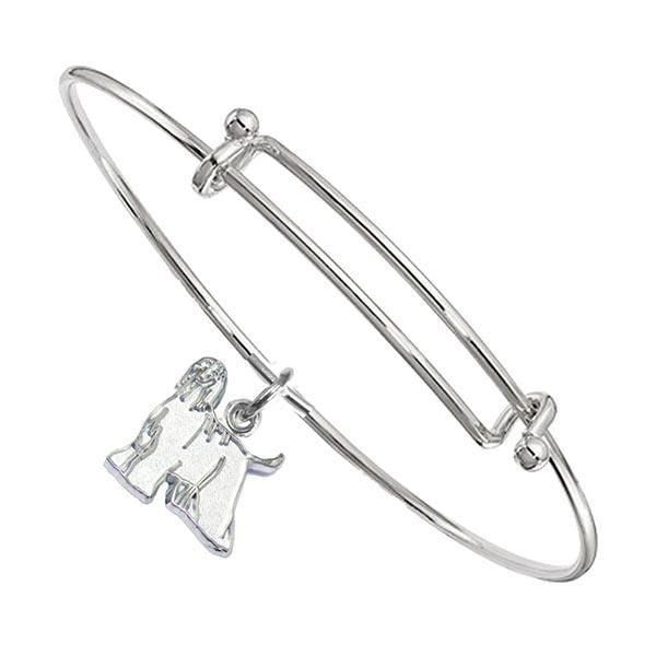 Afghan Hound Bangle Bracelet