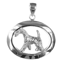 Airedale Terrier Oval Jewelry