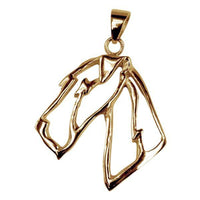 Airedale Terrier 14K Gold Cut Out Pendant