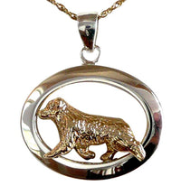 Australian Shepherd Sterling & 14k Gold Jewelry