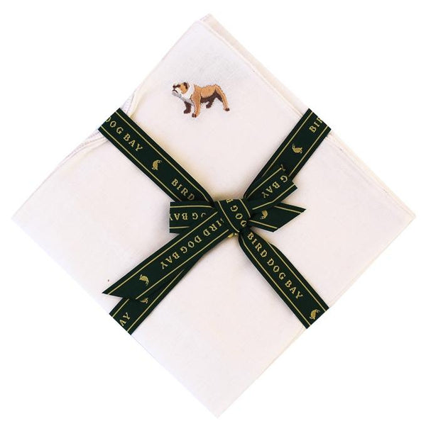 Bulldog Brawn Pocket Square